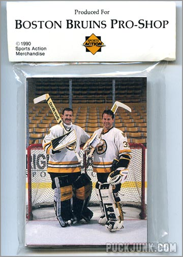 1990-91 Bruins Team Set