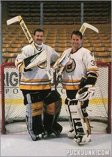 1990-91 Boston Bruins Jennings Tropy Winners