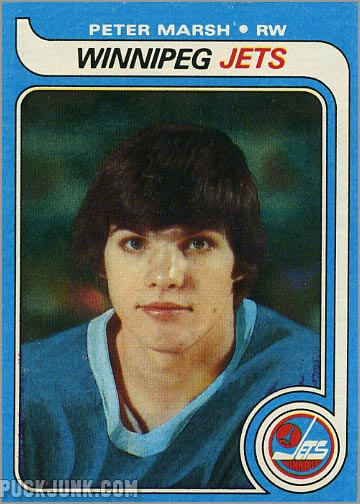 1979-80 Topps card #147 - Peter Marsh