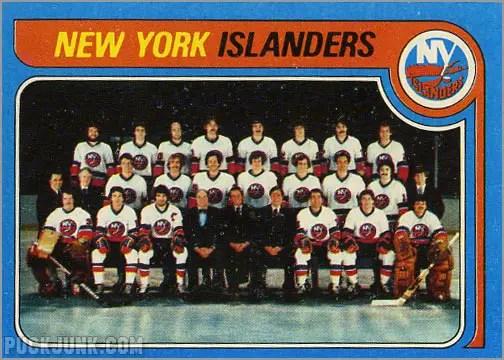 1979-80 Topps #253 - New York Islanders Team Photo & Checklist