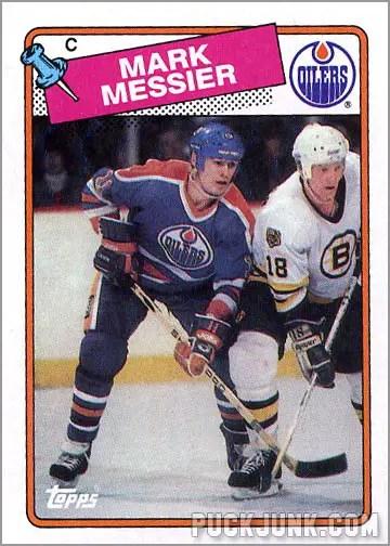 1988-89 Topps #93 - Mark Messier
