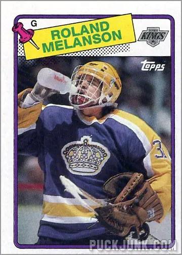 1988-89 Topps #160 - Roland Melanson