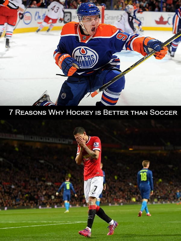 7 Reasons Why Hockey is Better Than Soccer