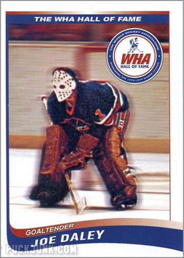 2010 WHA Hall of Fame #5 - Joe Daley