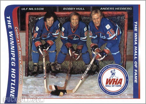 2010 WHA Hall of Fame #10 - The Winnipeg Hotline