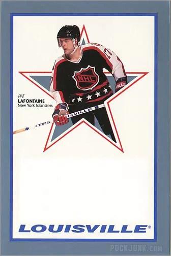1991-92 Louisville Pat Lafontaine