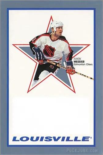 1991-92 Louisville Mark Messier