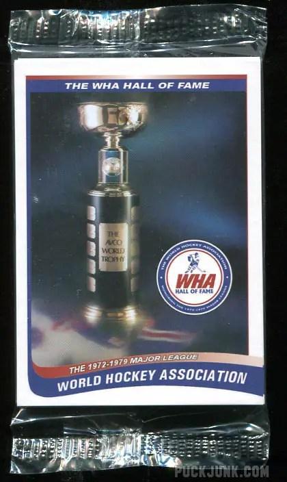 2010 WHA Hall of Fame Card Set