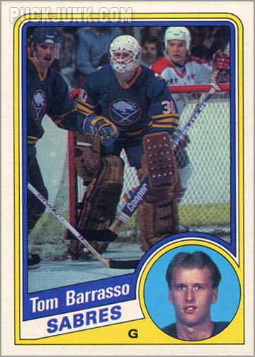 1984-85 OPC #18 - Tom Barasso
