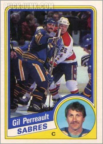 1984-85 OPC #24 - Gil Perreault