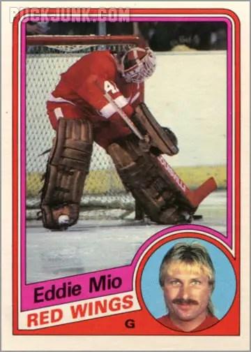 1984-85 OPC #61 - Eddie Mio