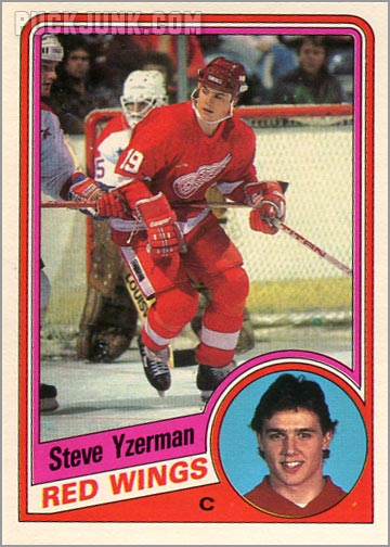 1984-85 OPC #67 - Steve Yzerman