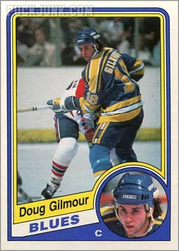 1984-85 OPC #185 - Doug Gilmour
