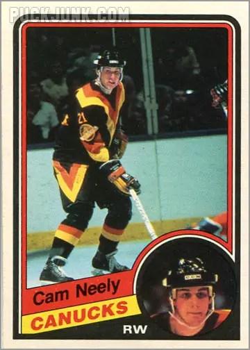 1984-85 OPC #327 - Cam Neely