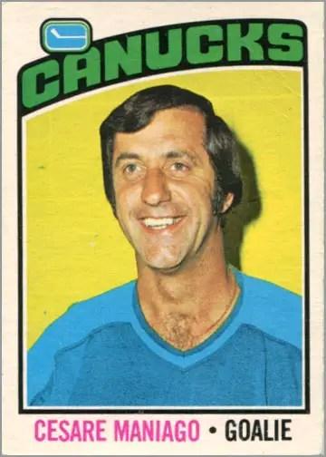 1976-77 O-Pee-Chee card #240 - Cesare Maniago