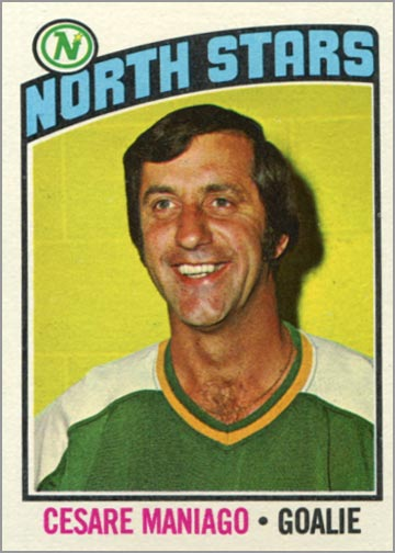 1976-77 Topps card #240 - Cesare Maniago