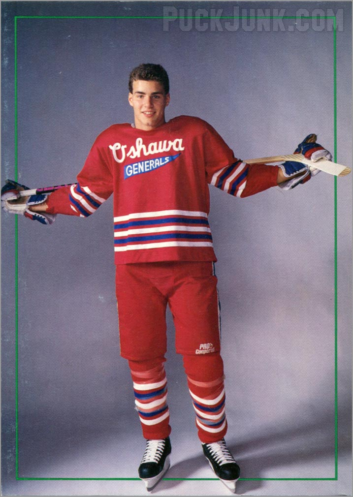 Eric Lindros Holiday Card