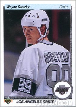 1990-91 Upper Deck Wayne Gretzky regular card