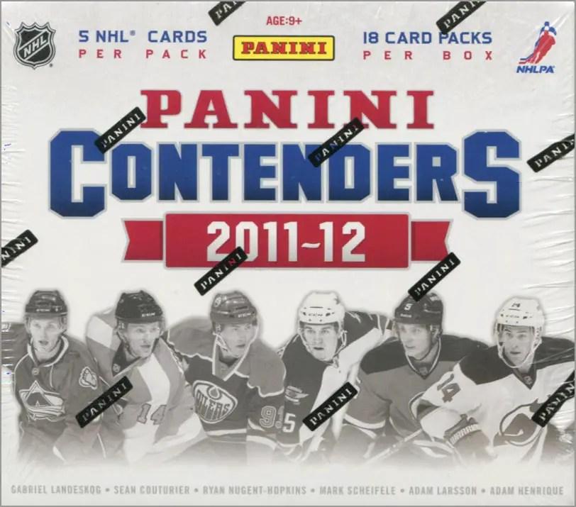 2011-12 Panini Contenders Box