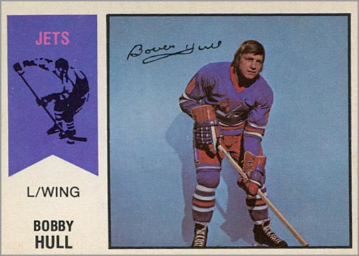 1974-75 OPC WHA #50 - Bobby Hull