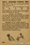 1963-64 Parkhurst #63 - Red Kelly