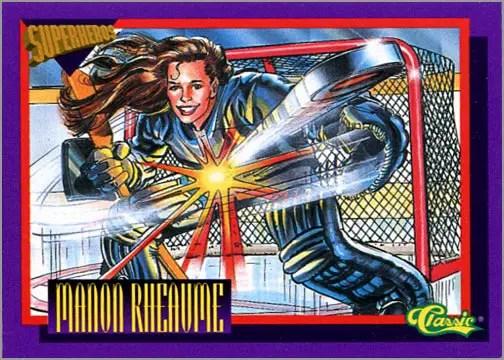 1993 Classic Superheroes #SS2 Manon Rheaume