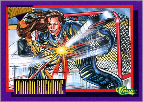 1993 Classic Superheroes #SS2 Manon Rheaume