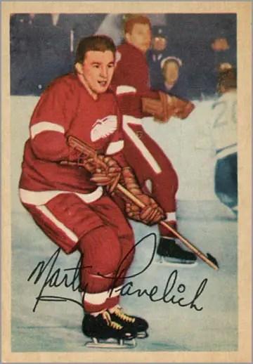 1953-54 Parkhurst #44 - Marty Pavelich