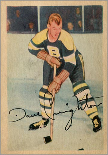 1953-54 Parkhurst #85 - Dave Creighton