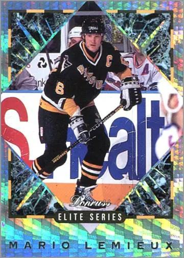 1993-94 Donruss Elite Series Inserts #1 - Mario Lemieux
