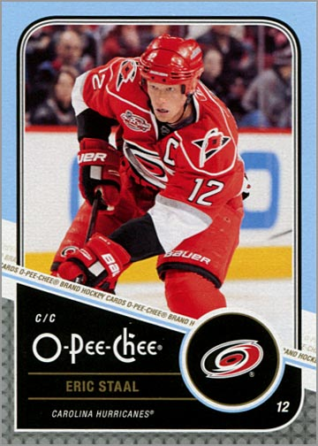 2011-12 O-Pee-Chee #25 - Eric Staal
