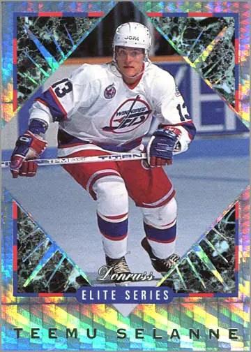1993-94 Donruss Elite Series Inserts #3 - Teemu Selanne
