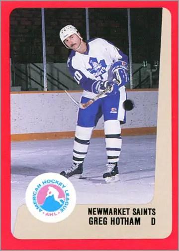1988-89 ProCards AHL/IHL - Greg Hotham