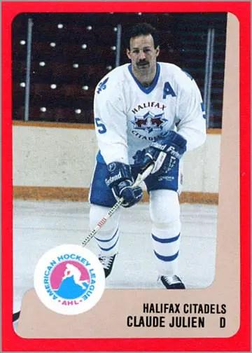 1988-89 ProCards AHL/IHL - Claude Julien