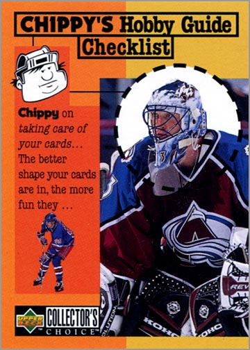 1997-98 Collector's Choice #316 - Chippy's Checklist