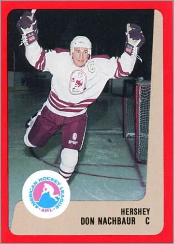 1988-89 ProCards AHL/IHL - Don Nachbaur