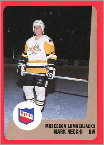 1988-89 ProCards AHL/IHL - Mark Recchi
