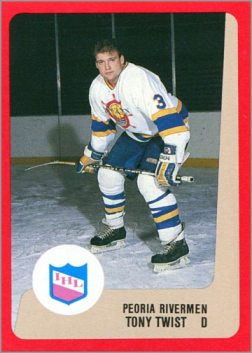 1988-89 ProCards AHL/IHL - Tony Twist