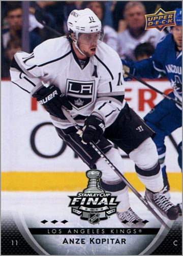 2011-12 L.A. Kings Stanley Cup Finals #1 - Anze Kopitar