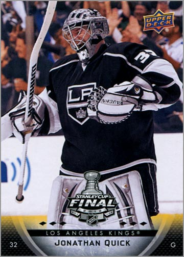 2011-12 L.A. Kings Stanley Cup Finals #3 - Jonathan Quick