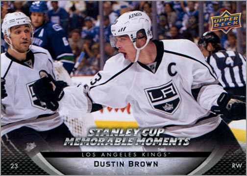 2011-12 L.A. Kings Stanley Cup Finals #6 - Dustin Brown