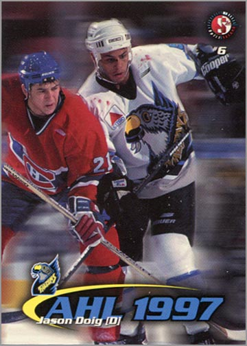 1997-987 Springfield Falcons - Jason Doig