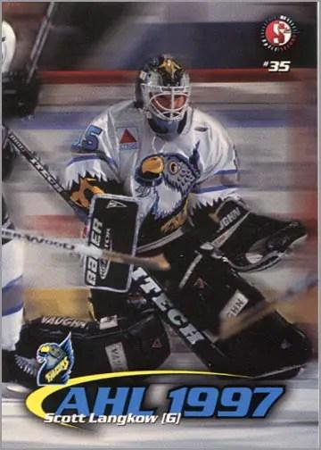 1997-987 Springfield Falcons - Scott Langkow
