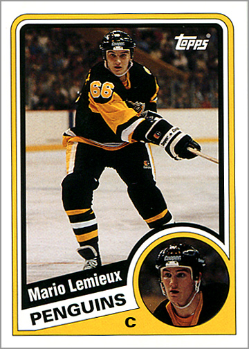 2003-04 Topps Lost Rookies #LRC-ML - Mario Lemieux