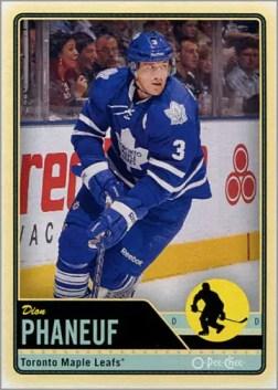 l2012-13 O-Pee-Chee #78 - Dion Phaneuf
