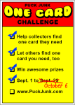 Contest: The One-Card Challenge