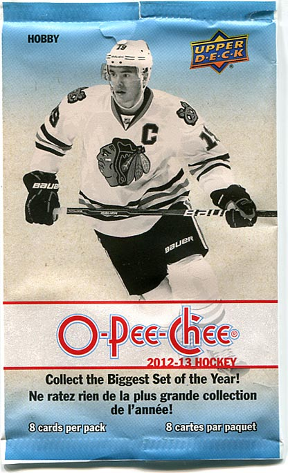 2012-13 O-Pee-Chee Hockey Pack Rip