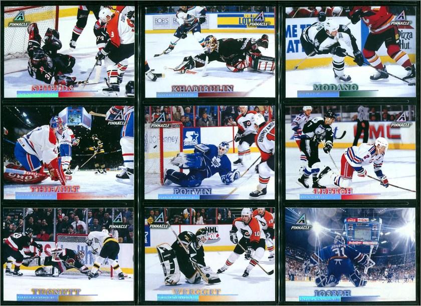 1997-98 Pinnacle #91 to #99