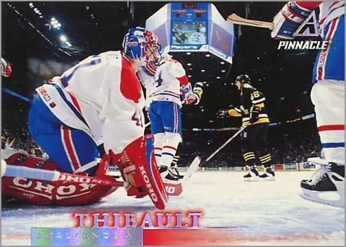 1997-98 Pinnacle #98 - Jocelyn Thibault