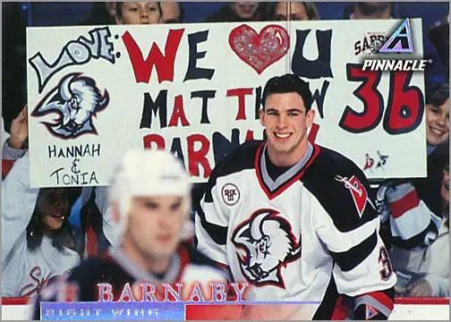 1997-98 Pinnacle #108 - Matthew Barnaby